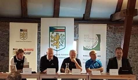 Český golf  v roce 2018