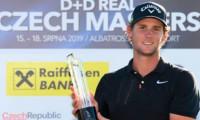 Thomas Pieters je dvojnásobným vítězem D+D REAL Czech Masters